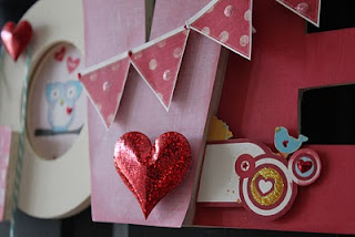 bits of me hang up a little love