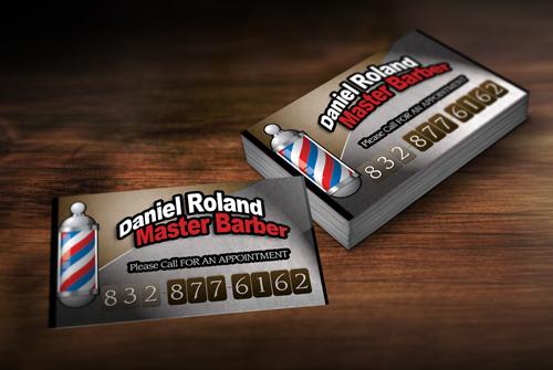 Barber business card holder images for Barber business card holder