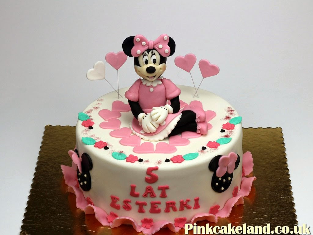Minnie Mouse Cake, Crawley