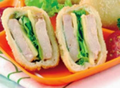 bbmarketplace: Roti Goreng Isi Smoked Chicken