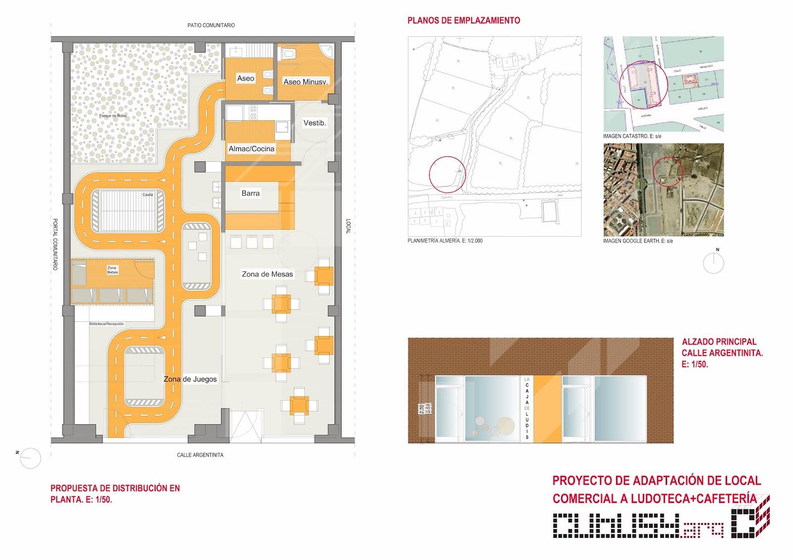 Agradable Paginas De Interiorismo #3: LUDOTECA+PLANTA+Y+ALZADO.jpg