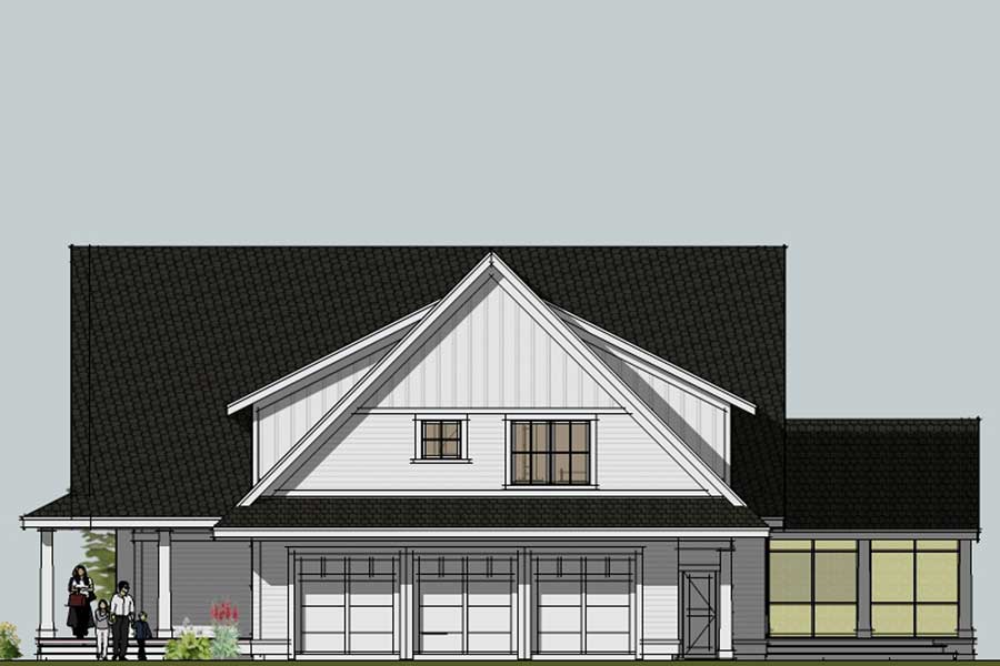 Apartment Over Garage House Plans