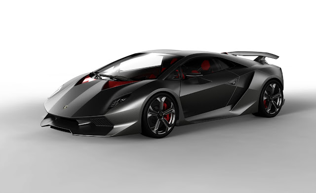 Lamborghini Concept Sixth Element Carbon Fiber Image Pic Photo Official Media Press