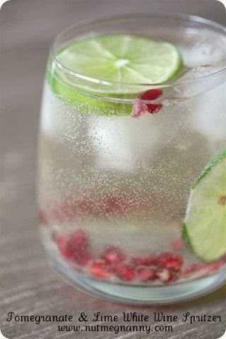 http://www.nutmegnanny.com/2011/12/19/pomegranate-lime-white-wine-spritzer/