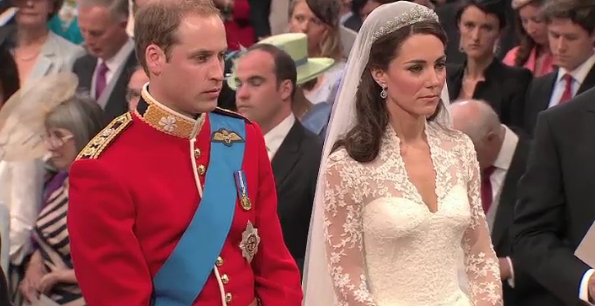 william and kate wedding dress. The Prince William and Kate
