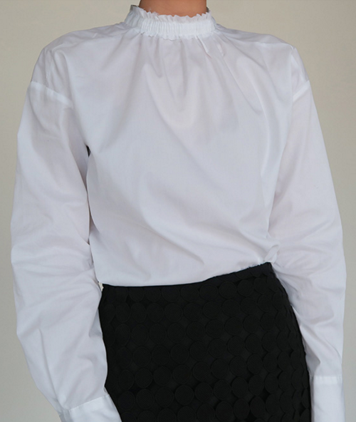 Stretch Neck Blouse
