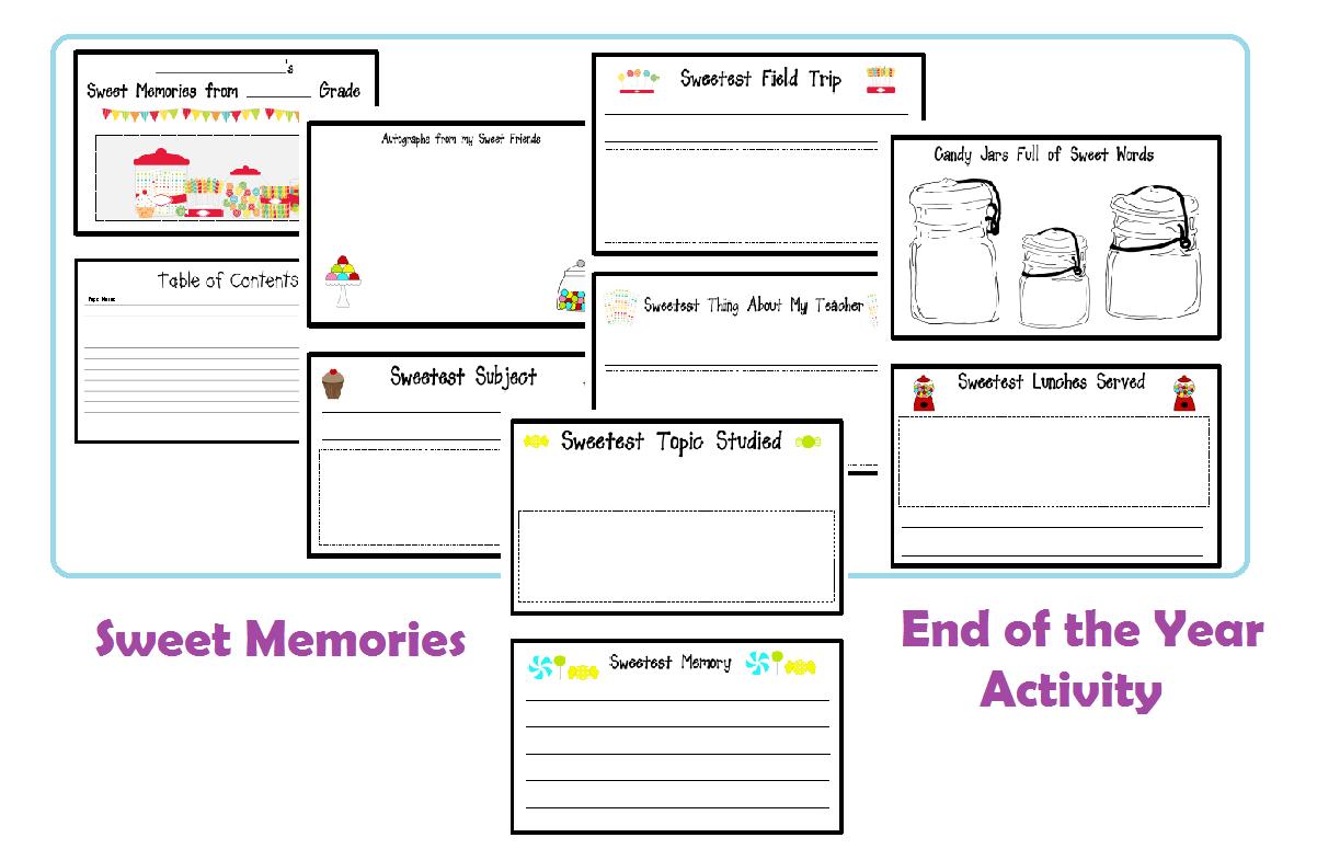 End Of School Worksheets : End of school activities classroom social