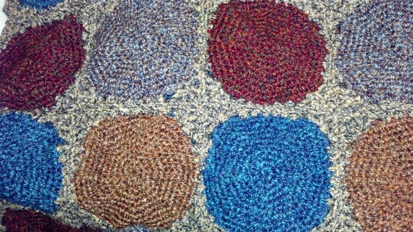 Circles Throw (Crochet) | Knit A Bit Crochet Away
