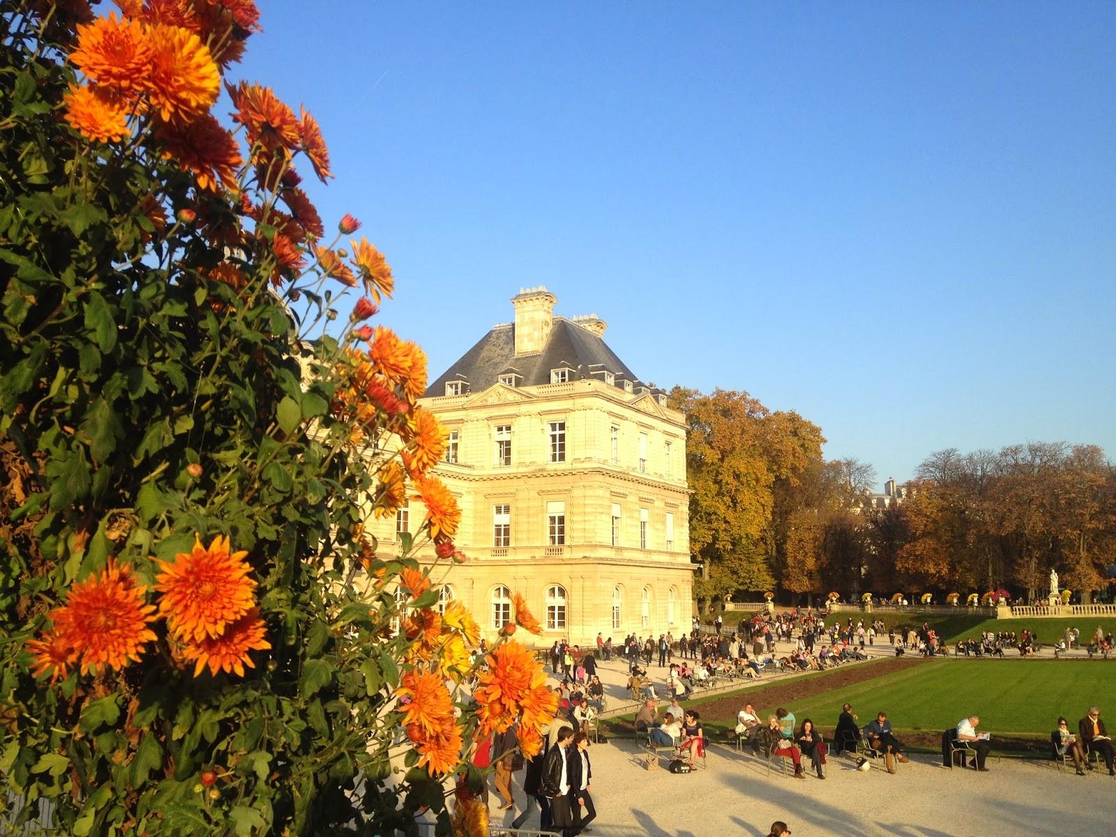 Palais du Luxembourg, Jardin du Luxembourg, Paris