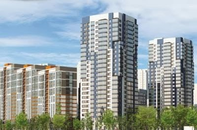 За январь 2014 года в Петербурге введено в эксплуатацию более 500 тыс.квадратных метров жилья в различных городских районах.