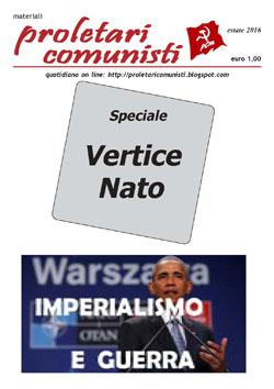 proletari comunisti - Speciale Vertice NATO