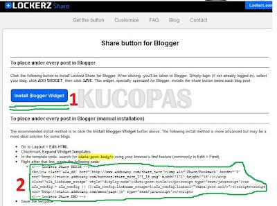 Cara Mudah Membuat Tombol Share Lockerz Di Blog