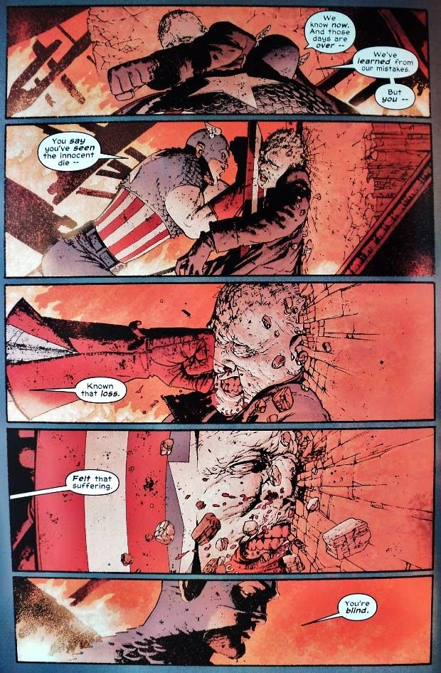 Captain America # 4, 5 6 - John Ney Rieber John Cassaday