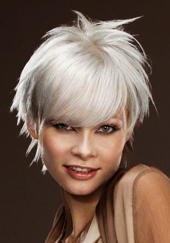 superb hairstyle hair color white