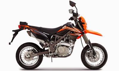 Kawasaki D-Tracker 150 CC 2014
