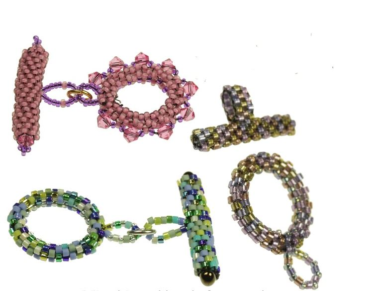 how to make bead woven clasp tutorials the beading gem s