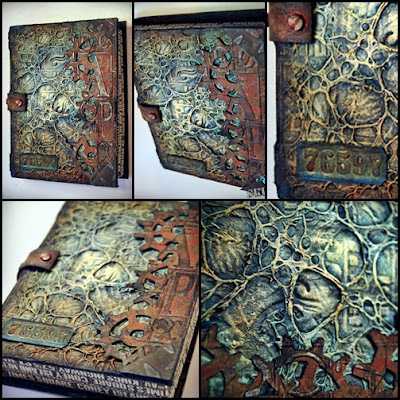 Andy Skinner Altered book of ruination