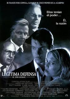 El Poder de la Justicia / Legítima Defensa: De John Grisham Poster