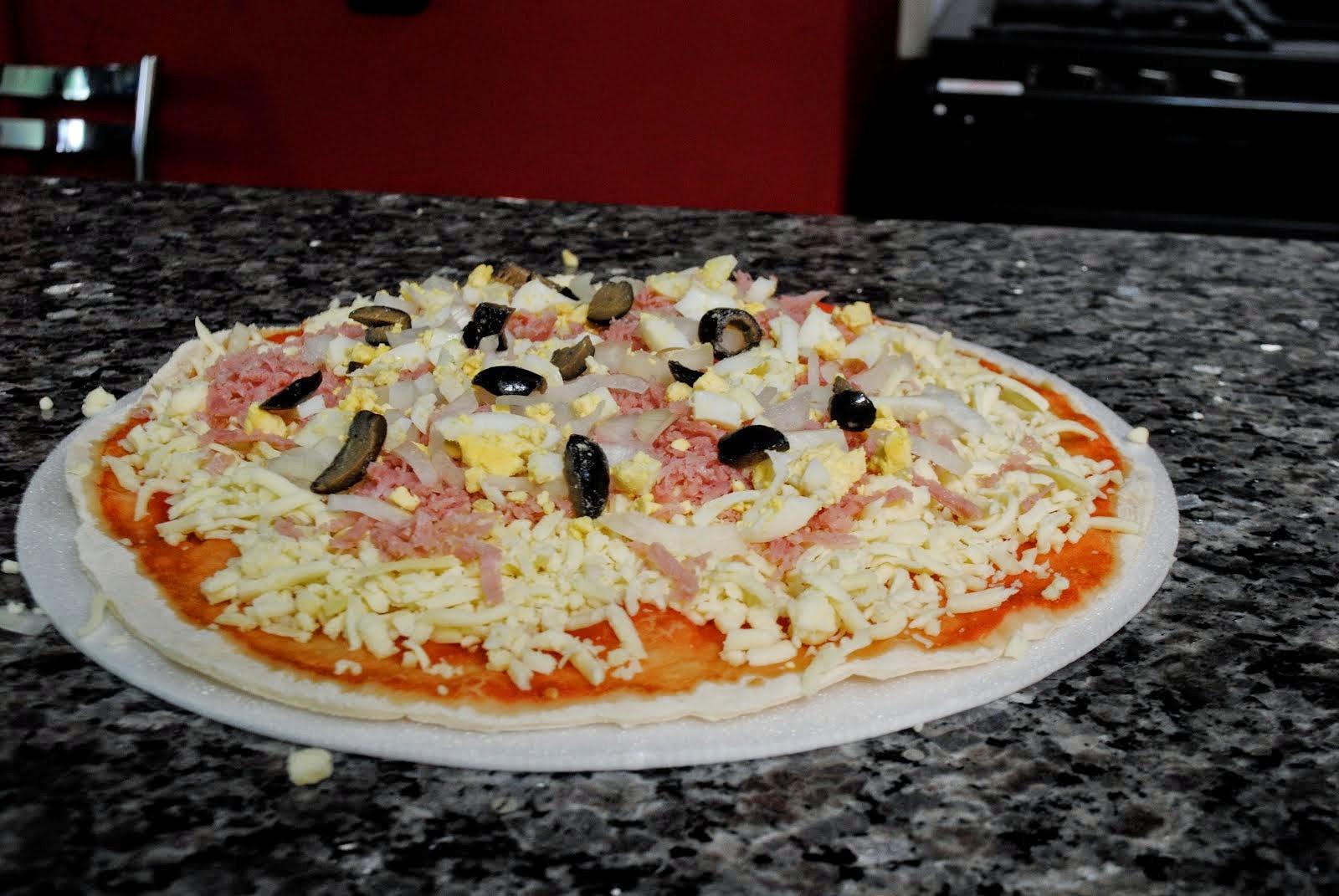 Pizzas Artesanais Congeladas