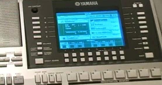 Cara reset ulang keyboard Yamaha Psr ke setingan awal ...