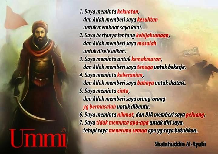 7 Kata Bijak Salahuddin Al Ayyubi