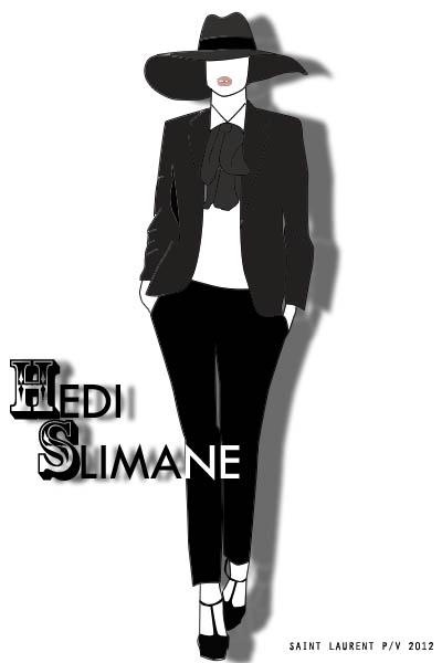 Hedi Slimane para SL.
