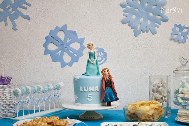 Festa infantile a tema Frozen