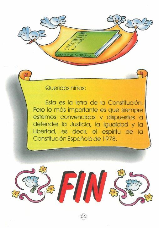 comentario sobre constitucion espanola:
