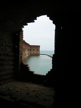 Dry Tortugas - View through Wall