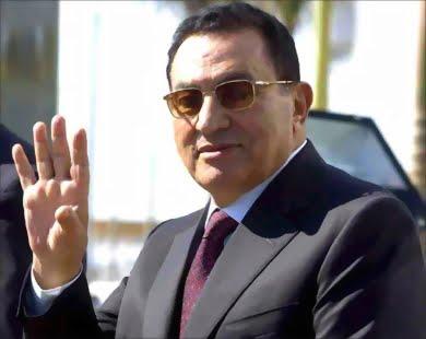 كلمات القلب لرئيسي الاسبق مبارك