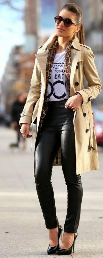 MODA DE RUA - conjuntos para ir tabalhar casacos de pelo