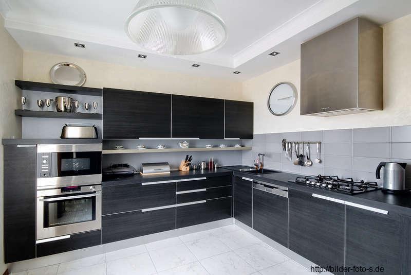 15 fotos de cocinas grises colores en casa for Pisos para cocina moderna