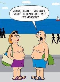 beach humour