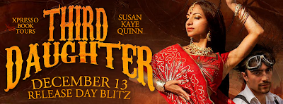 Release Day Blitz: Third Daughter (The Dharian Affairs Trilogy #1) by Susan kaye Quinn
