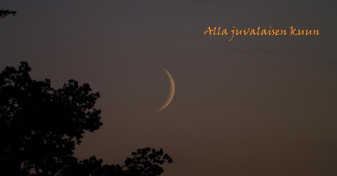 Alla juvalaisen kuun