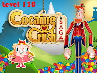 Trick Candy Crush Saga Level 130 Special