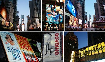 Times Square, Broadway, musicals
