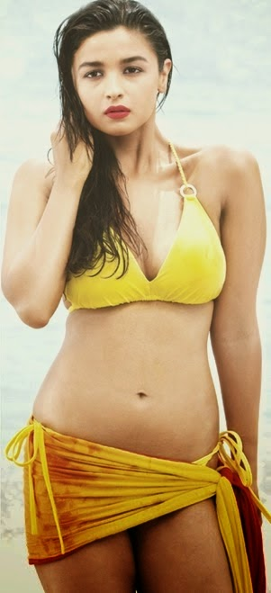Alia Bhatt bikini photo