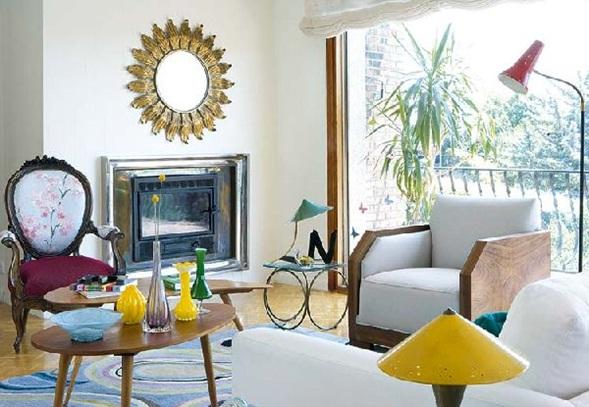 Sala Pequena Estilo Retro ~ Aquí algunas fotos de salas estilo vintage para tu inspiración