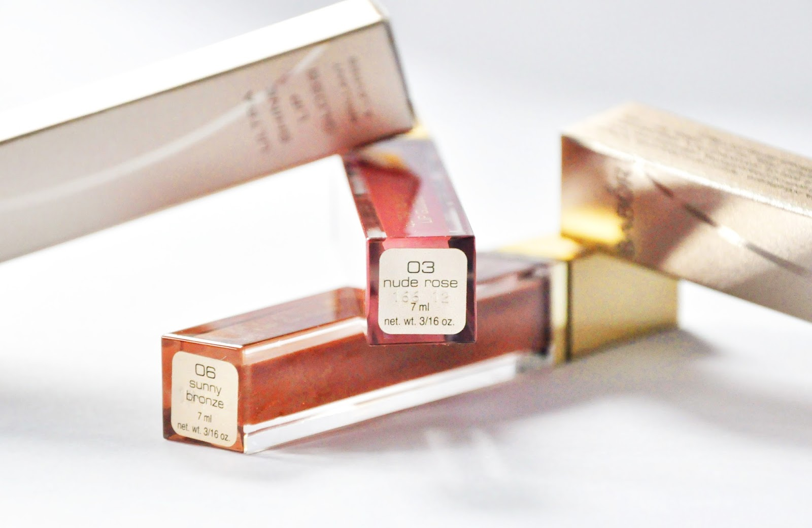 BABOR Ultra Shine Lip Gloss #03 Nude Rose #06 Sunny Bronze