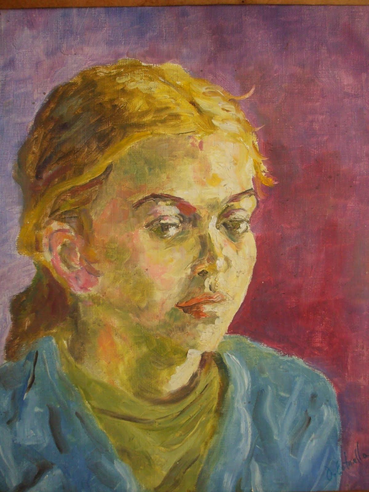 Retrato de Vanessa.