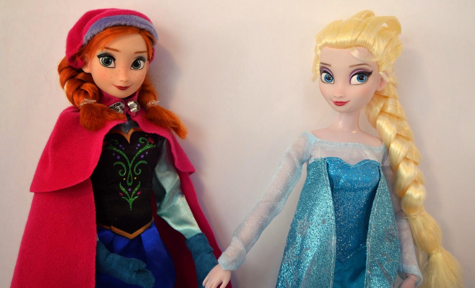 Mis Muñecas Disney Frozen Elsa Y Anna