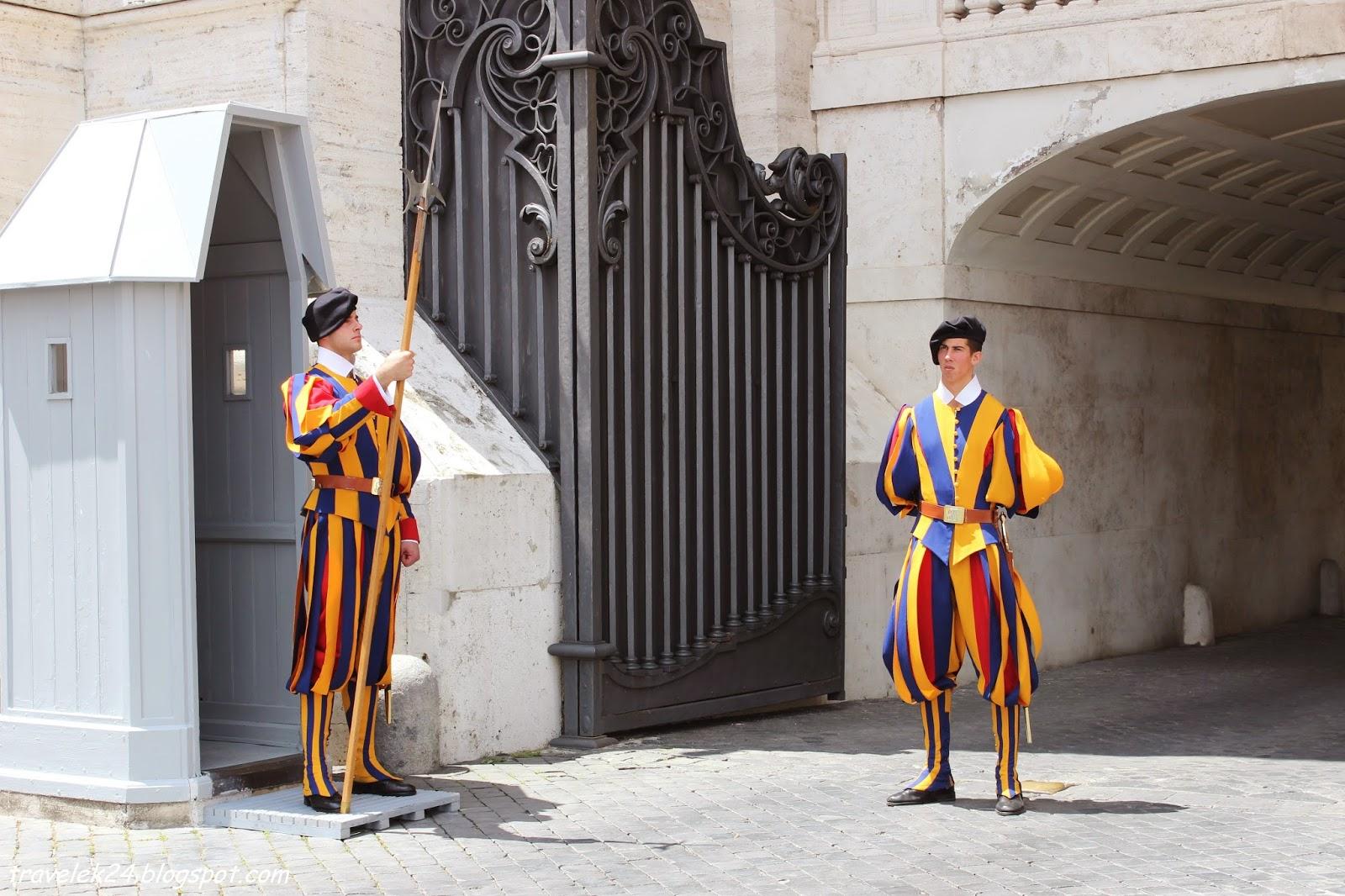 Rzym Watykan Gwardia