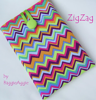 Funk stripe Kindle case, kobo touch case, iPad Mini case, UK, baggieaggie.com,
