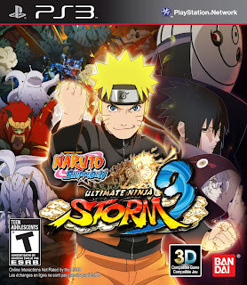 Naruto Shippuden Ultimate Ninja Storm 3 PS3 Games ISO