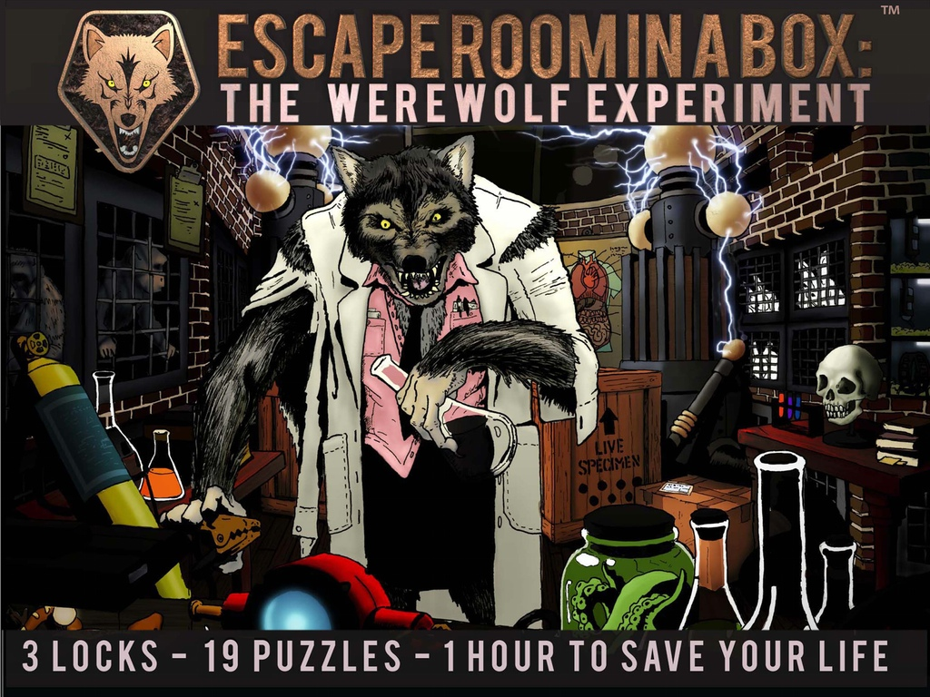 Escape Room In A Box Werewolf Experiment