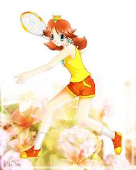 Daichy jugando Tennis -^^-