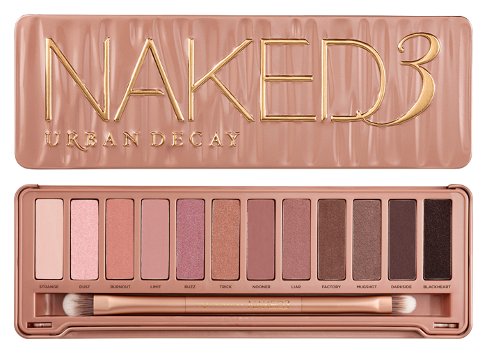 lilly make up review urban decay naked 3 palette