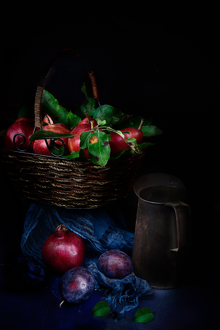 Still life photography, fruits, Moody shots Simi Jois Photography