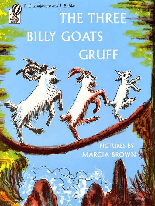 Spinning Some Stories The Three Billy Goats Gruff